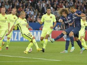 shoot de David Luiz premier but