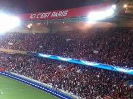 match tribune psg-parc des princes