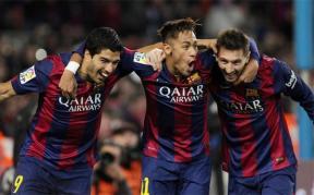 Neymar et Luis Suarez