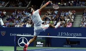Smash Roger FEderer US Open