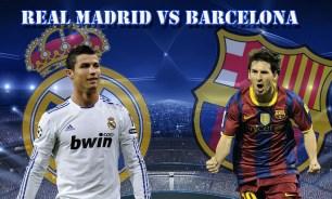 real madrid Cristiano Ronaldo v. Barcelone Lionel Messi