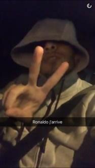 Fan de Cristiano Ronaldo sur la pelouse PSG Real il avait prévu le coup