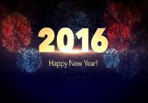 année joyeuse pour 2016