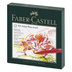 Faber-Castell Estuche 12 rotuladores Pitt