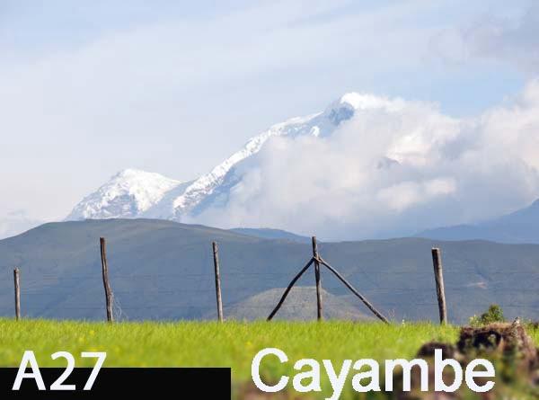 Volcán Cayambe: foto Acuario27