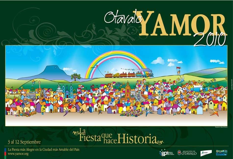 Afiche Fiestas del Yamor 2010