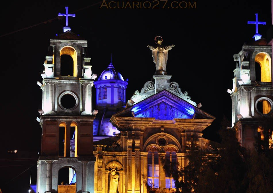 Iglesia del Jordan en Otavalo. Foto Acuario27