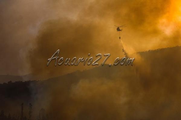Incendios: Foto El Telégrafo