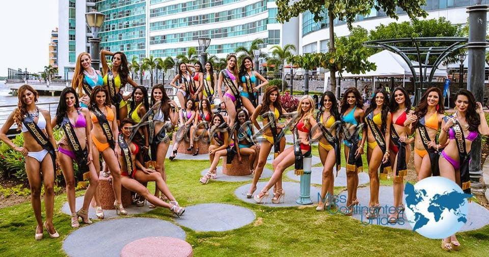 """La elección del """"Mejor Traje Típico"""" de Miss Continentes Unidos 2015 en Ibarra."""