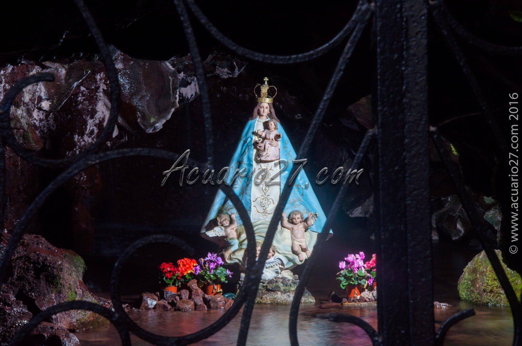 Virgen de la gruta del socavón Otavalo
