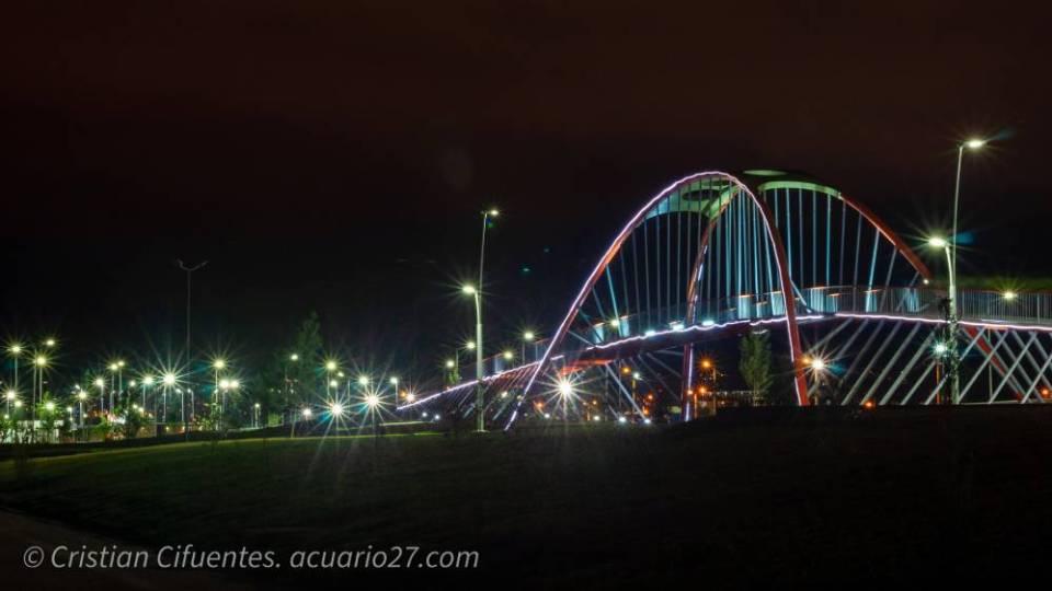 Puente en el Parque Ciudad Blanca