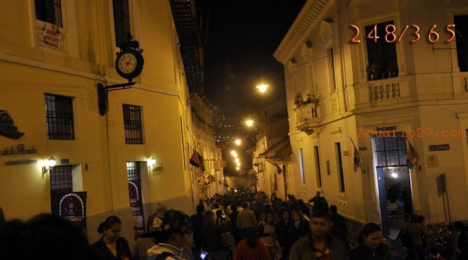 248/365 Viva Quito.