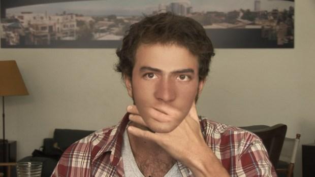 Programar o no a Avi Mograbi en un festival judío conlleva posicionarse ideológicamente. FOTOGRAMA: Z32 (2008).