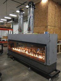Gas Fireplace Flame | Custom Gas and Linear Fireplace ...