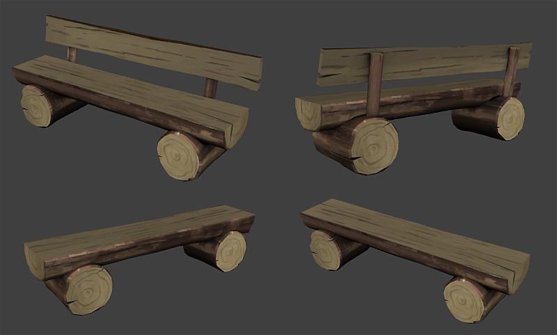model log bench page