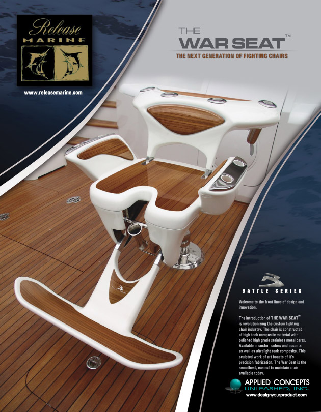 fishing fighting chair parts posture improving marine product design applied concepts unleashed yacht warseat ad b aug2008 indd