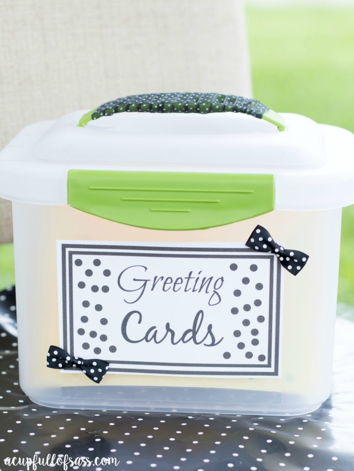 Greeting Card Organizer A Cup Full Of Sass