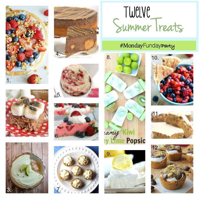 12 Summer Treats Monday Funday