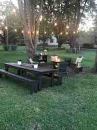 How To Hang Outdoor String Lights Backyard Diy Ideas A Cup Full Of Sass