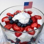4th of July Berry Trifle