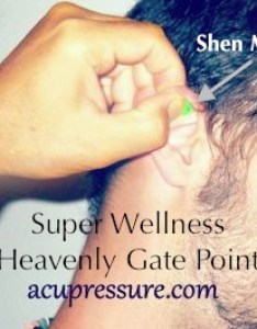 Ear point shen men for wellness counteracts pain  addiction also acupressure inflammation rh