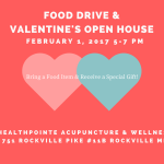 Food Drive & Valentine's Open House