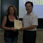 Siobhan Seville Beijing Diploma