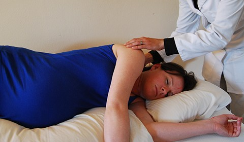 Acupressure for labour onset and labour duration