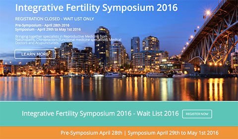 Integrative Fertility Symposium 2016 and other important announcements