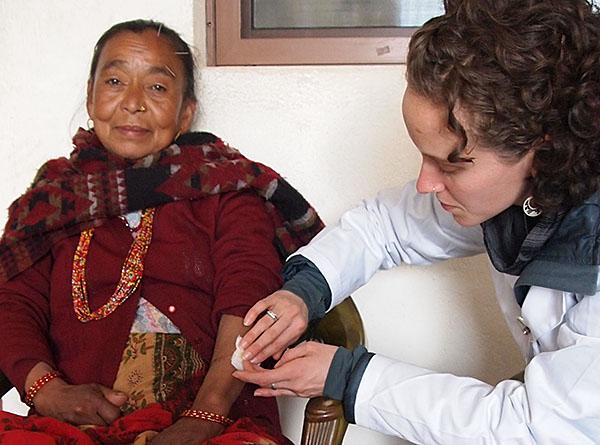 Emma Goulart   Acupuncture Volunteer Nepal