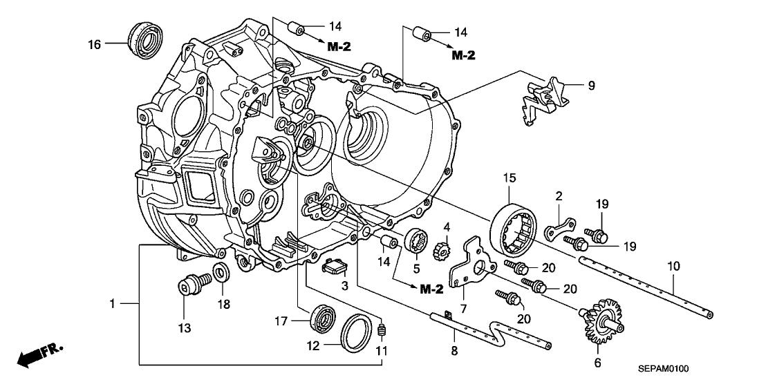 2008 Acura TL 4 Door TYPE-S (SUMMER TIRE) KA 6MT MT Clutch