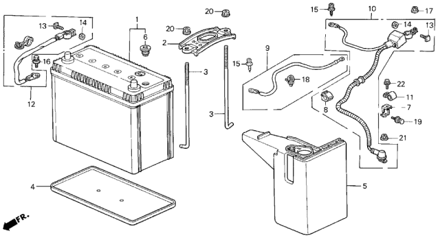 1999 Acura Integra Fuse Box Diagram : 96 01 Acura Integra