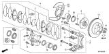 Genuine Acura TL Brake Caliper Repair Kit