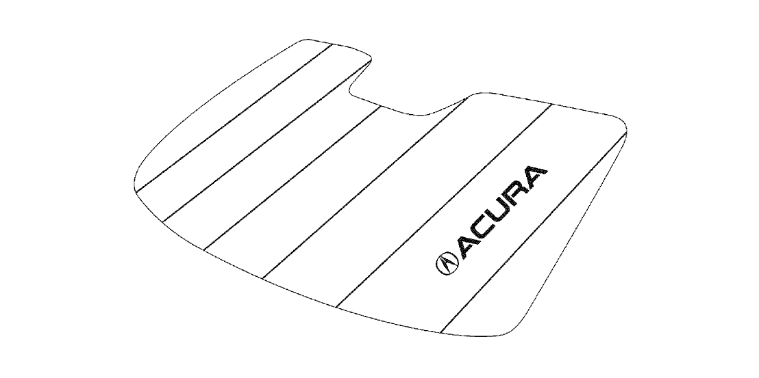 2014 Acura RDX 5 Door BASE (2WD) KA 6AT Sunshade