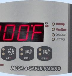 pm5010 digital spa side control [ 2829 x 1275 Pixel ]