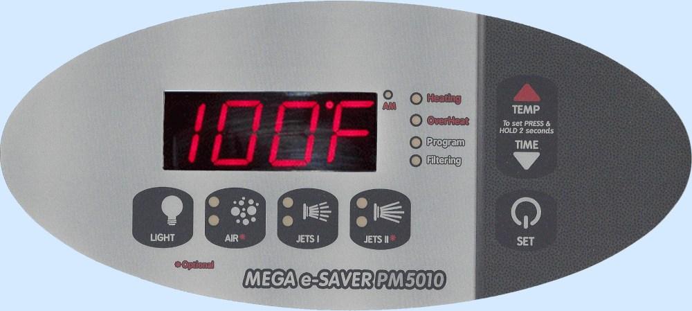 medium resolution of pm5010 digital spa side control