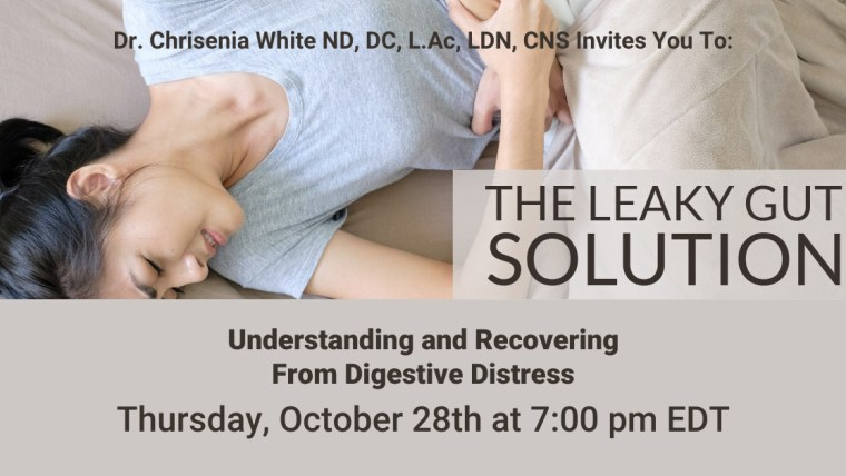 The Leaky Gut Solution