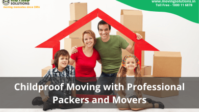 Photo of Childproof Moving with Professional Packers and Movers