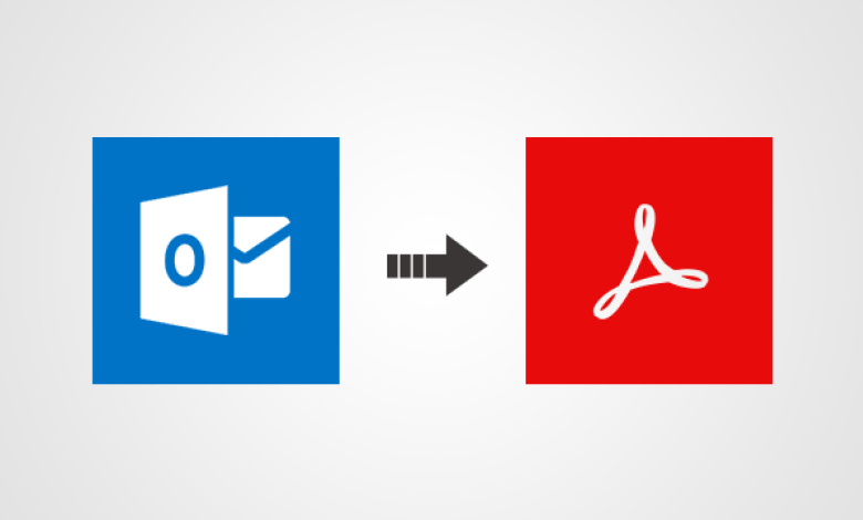Convert Outlook PST Files to PDF