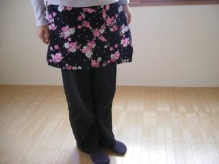 ラップスカート オーバースカート