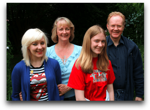 Hannah, Kay, Laura, Alastair