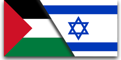 Israeli/Palestinian Flags