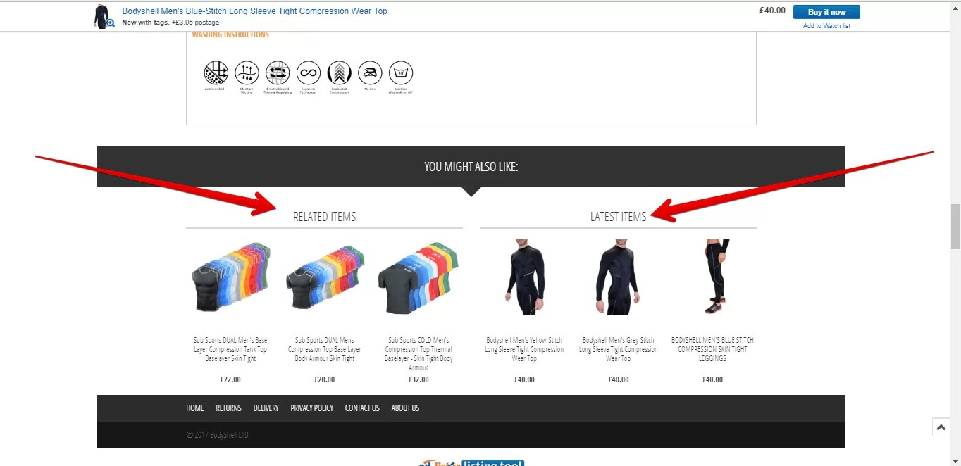 custom widgets to advertise your own products using Ad-Lister