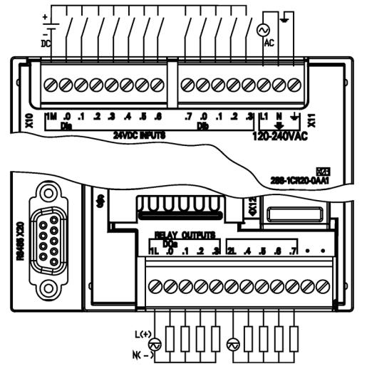 Siemens S7 200 Smart Plc Wiring Diagram