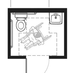 Shower Stall Diagram 2006 Toyota Tacoma Parts Ada Bathroom Layouts | Best Layout Room