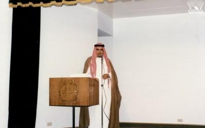 من أمسيات النادي : – حسين سهيل – محمد الزيداني -نجيب وعل .
