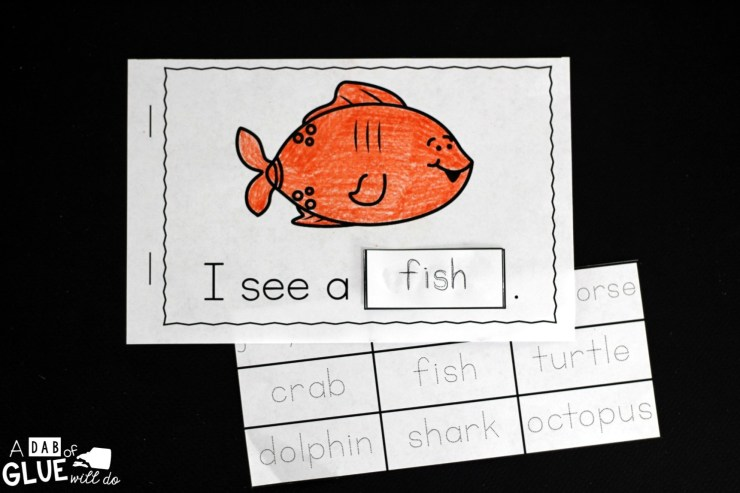 I always loved using emergent readers when I was teaching. They are a great tool to help improve reading skills and increase vocabulary. My new freebie, I See Ocean Animals Interactive Reader, allows students to do both of these things, while learning about ocean animals. Animal words can be tricky and this resource will help students to better retain what they are learning.