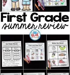 First Grade Summer Review - [ 2048 x 1078 Pixel ]