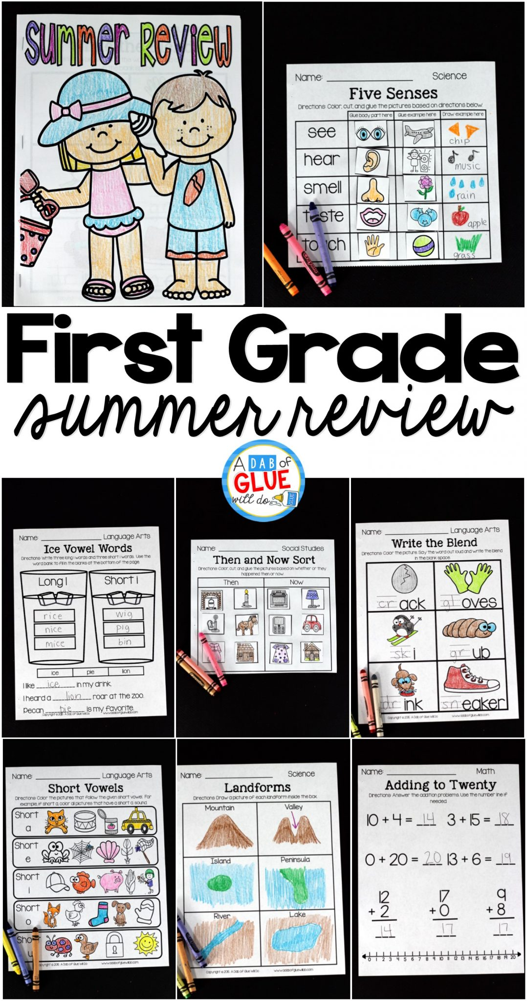 hight resolution of First Grade Summer Review -