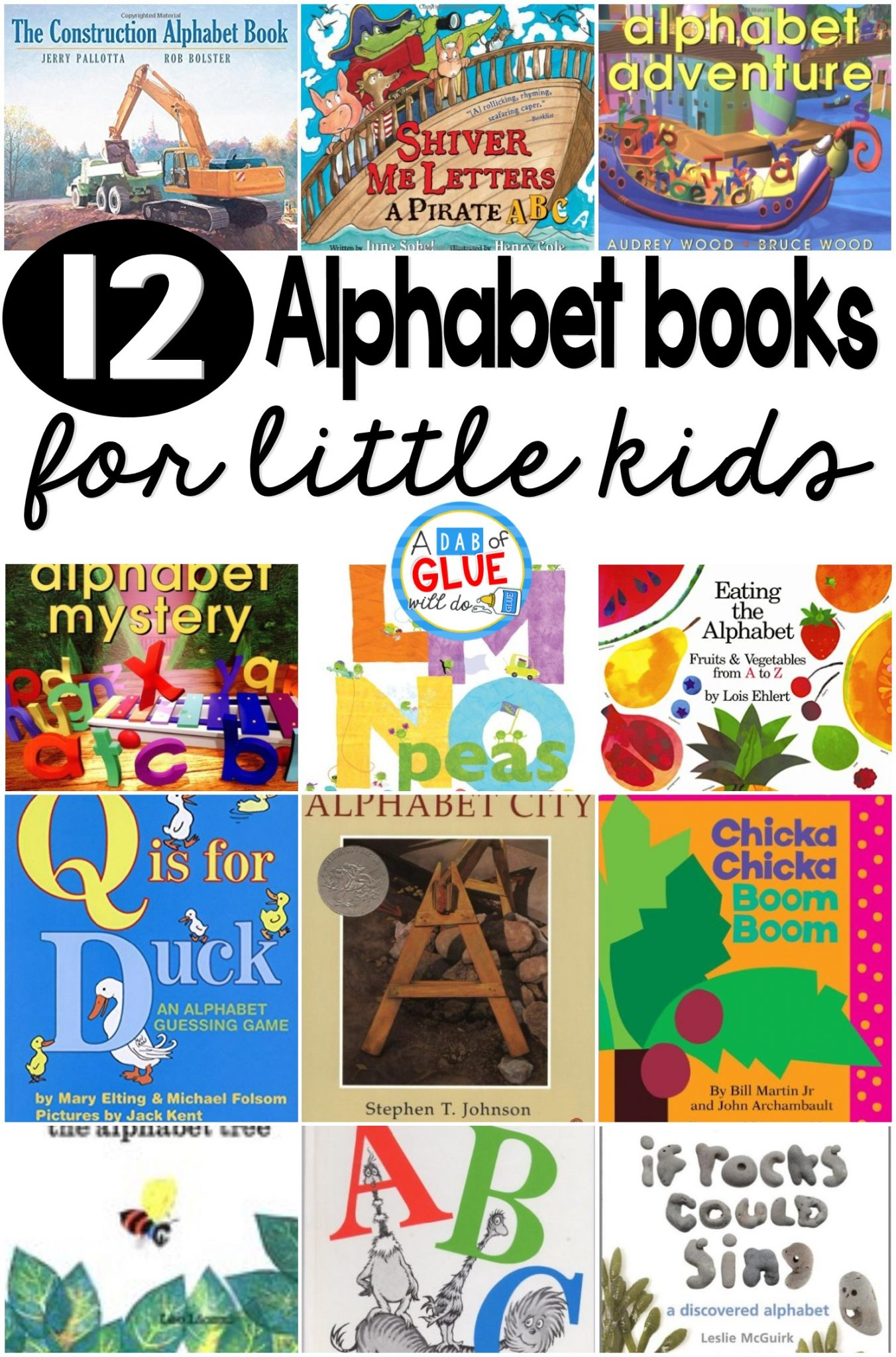 letter a books for toddlers 12 alphabet books for a dab of glue will do 13059